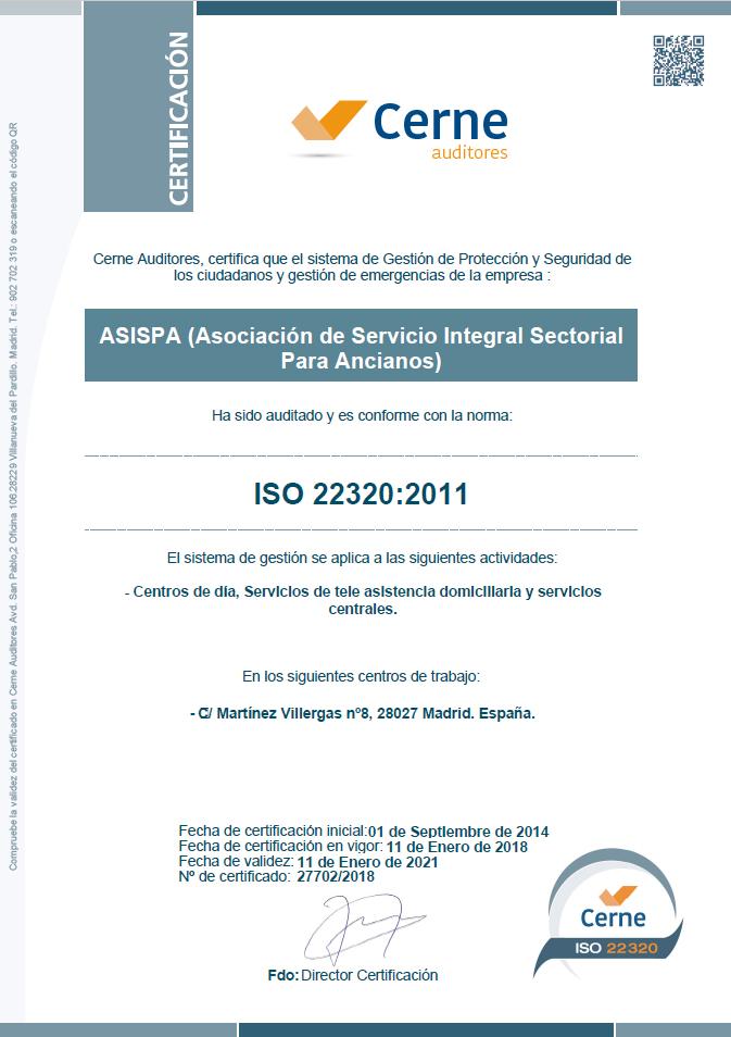 certifcacion-iso-22320