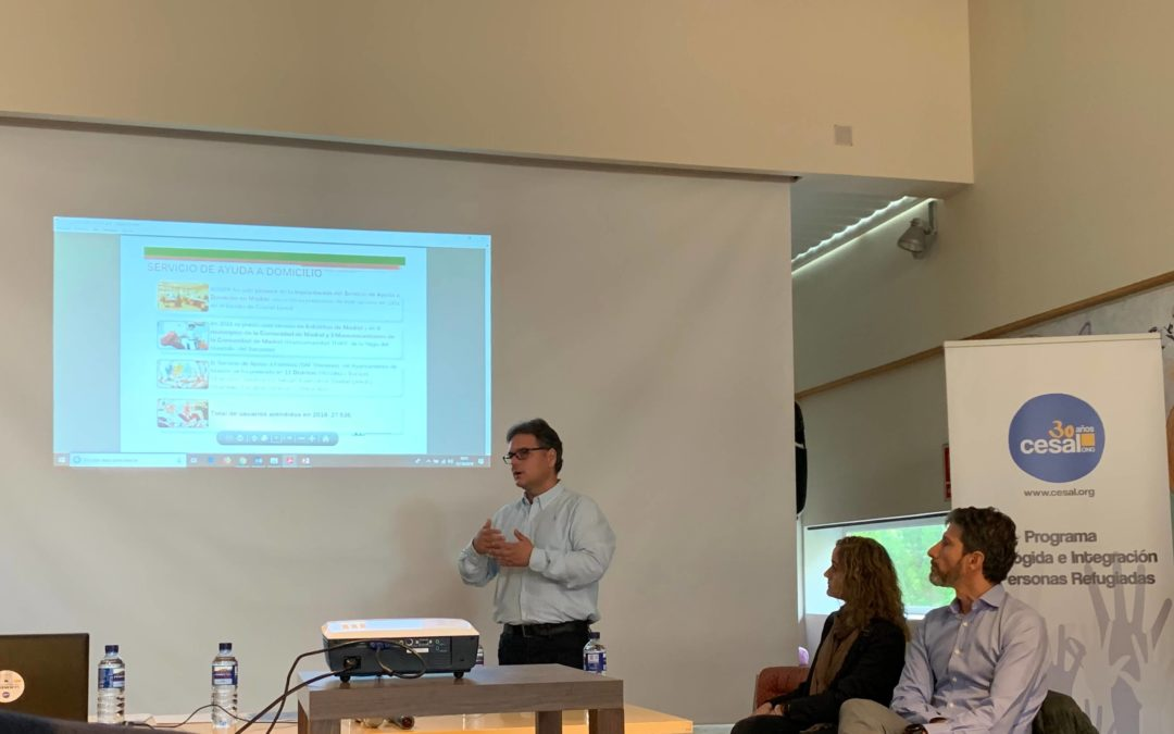 """José Casas, Jefe del área de selección y desarrollo, participa en unas jornadas organizadas por la ONG """"CESAL"""""""