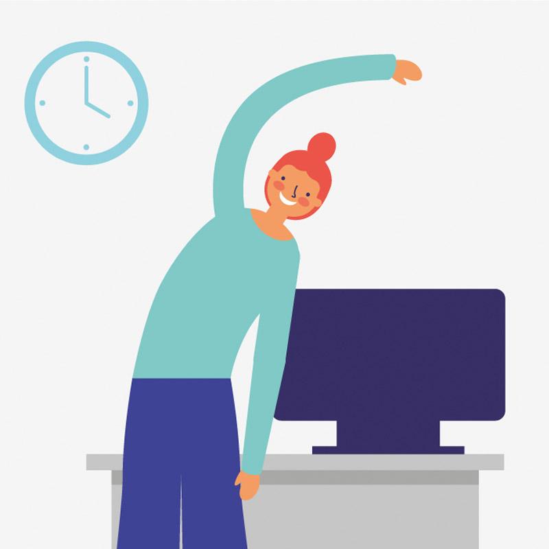 imagen de si tienes dos minutos, tienes salud