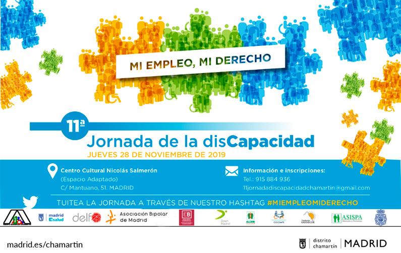 11ª Jornada de la discapacidad en el Distrito Chamartín
