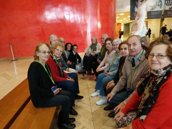 CDM Esfinge visitan el Museo del Prado