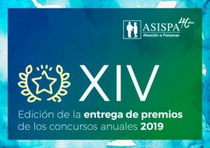 logotipo de los premios ASISPA XIV Edición