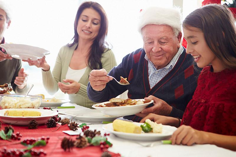 Menú de Navidad: recetas para mayores
