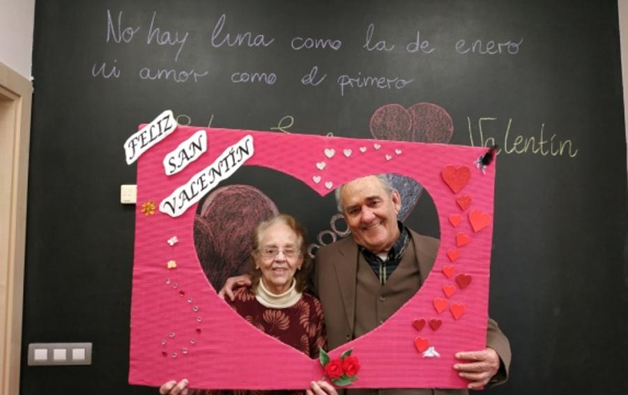 Celebramos el Día de San Valentín en el CDM Esfinge