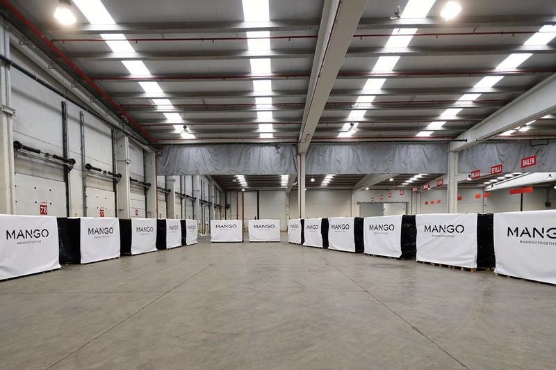 imagen de las instalaciones de Mango