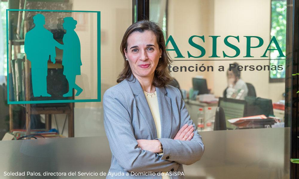 Soledad Palos, directora del Servicio de Ayuda a Domicilio de ASISPA