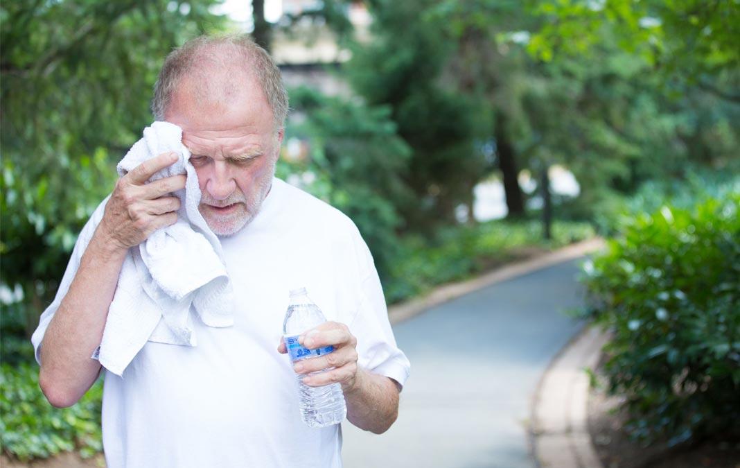 como afecta el calor a los mayores asispa