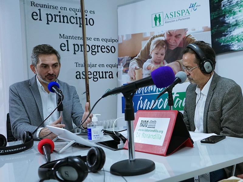 Pepe Aniorte, Delegado del Área de Gobierno de Familias, Igualdad y Bienestar Social del Ayuntamiento de Madrid