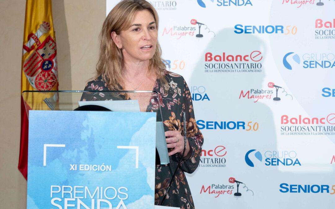 Directora general Asespi en los IX Premios Senda