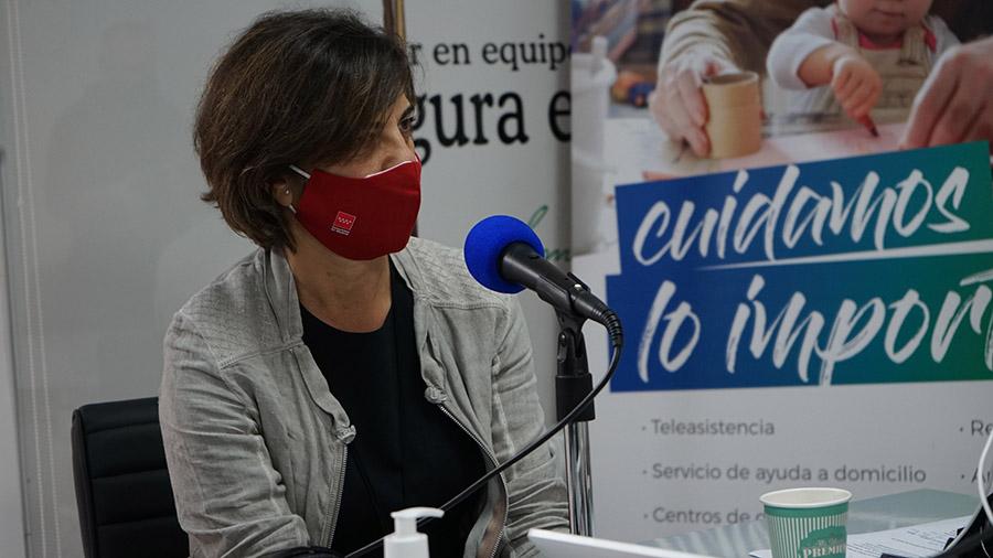 La viceconsejera de Políticas Sociales de la Comunidad de Madrid, Silvia Sánchez González