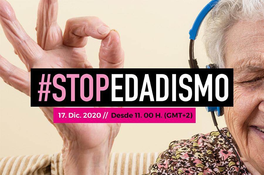 Únete al movimiento #StopEdadismo. Maratón de radio 17 diciembre