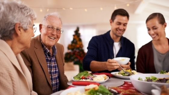 menu saludable para navidad