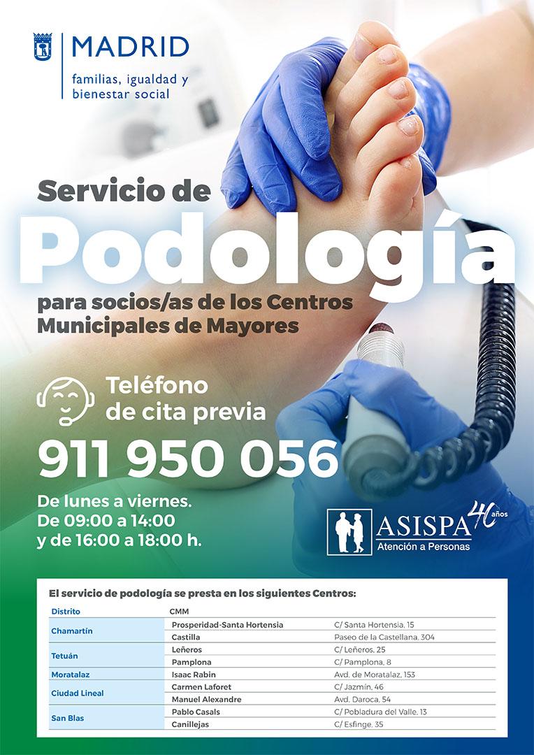 podologia asispa centros de mayores