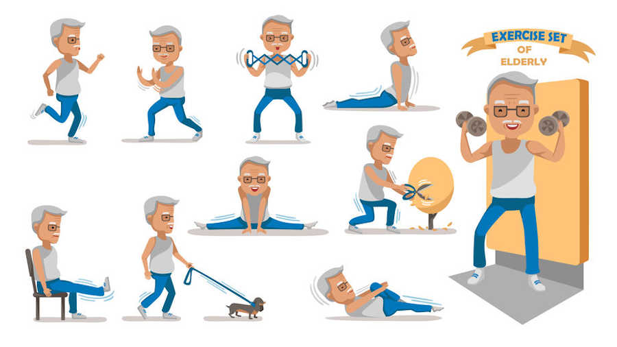 ejercicios de fortalecimiento para mayores