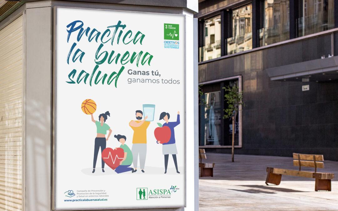"""ASISPA pone en marcha la campaña """"Practica la buena salud"""""""
