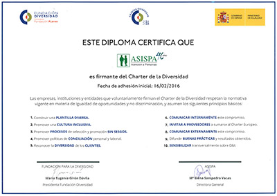 Diploma ASISPA Diversidad