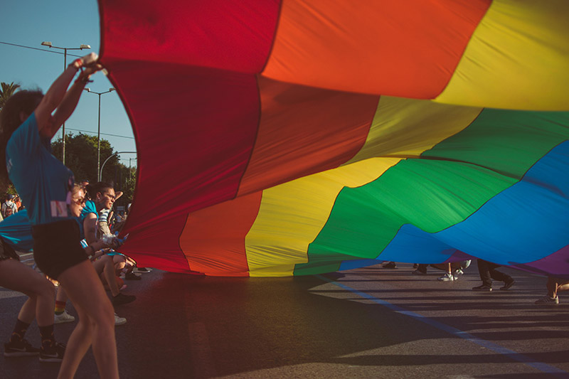 celebración de día del orgullo