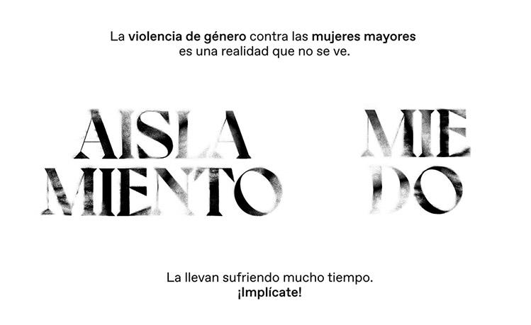 La violencia de género contra las mujeres mayores es una realidad que no se ve