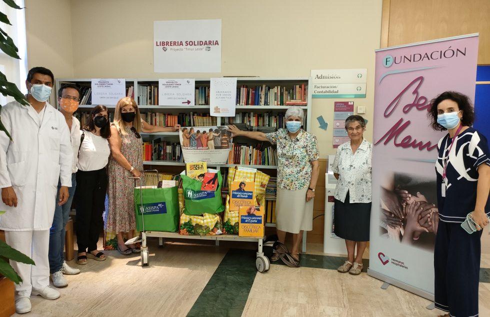 Donación de libros para la Fundación Benito Menni