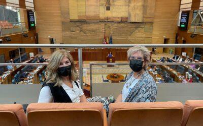 Presentación de un Proyecto No de Ley sobre Prevención del Suicidio y Salud Mental en la Asamblea de Madrid