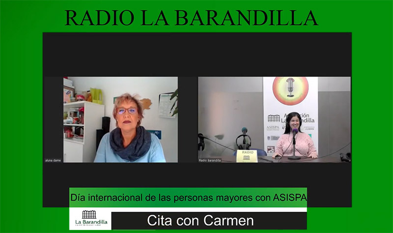 ASISPA en Radio La Barandilla por el Día Internacional de las Personas Mayores