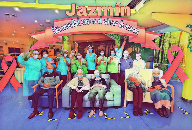Día Mundial Contra el Cáncer de Mama en la Residencia Jazmín